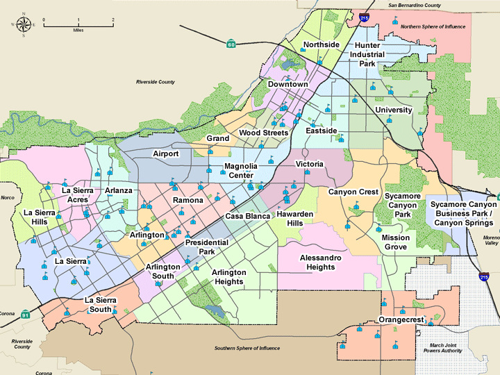 School Districts In California Map.Riverside California City Of Arts Innovation At Home In Riverside