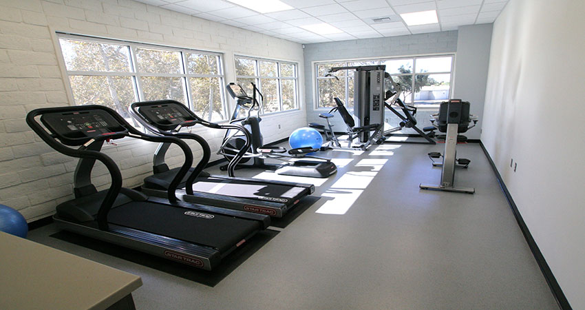 Fitness rooms parks recreation and community services
