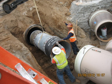 sewer trunk replacement