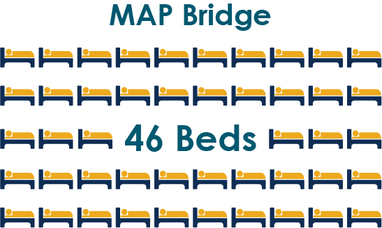 Map Bridge, 46 Beds