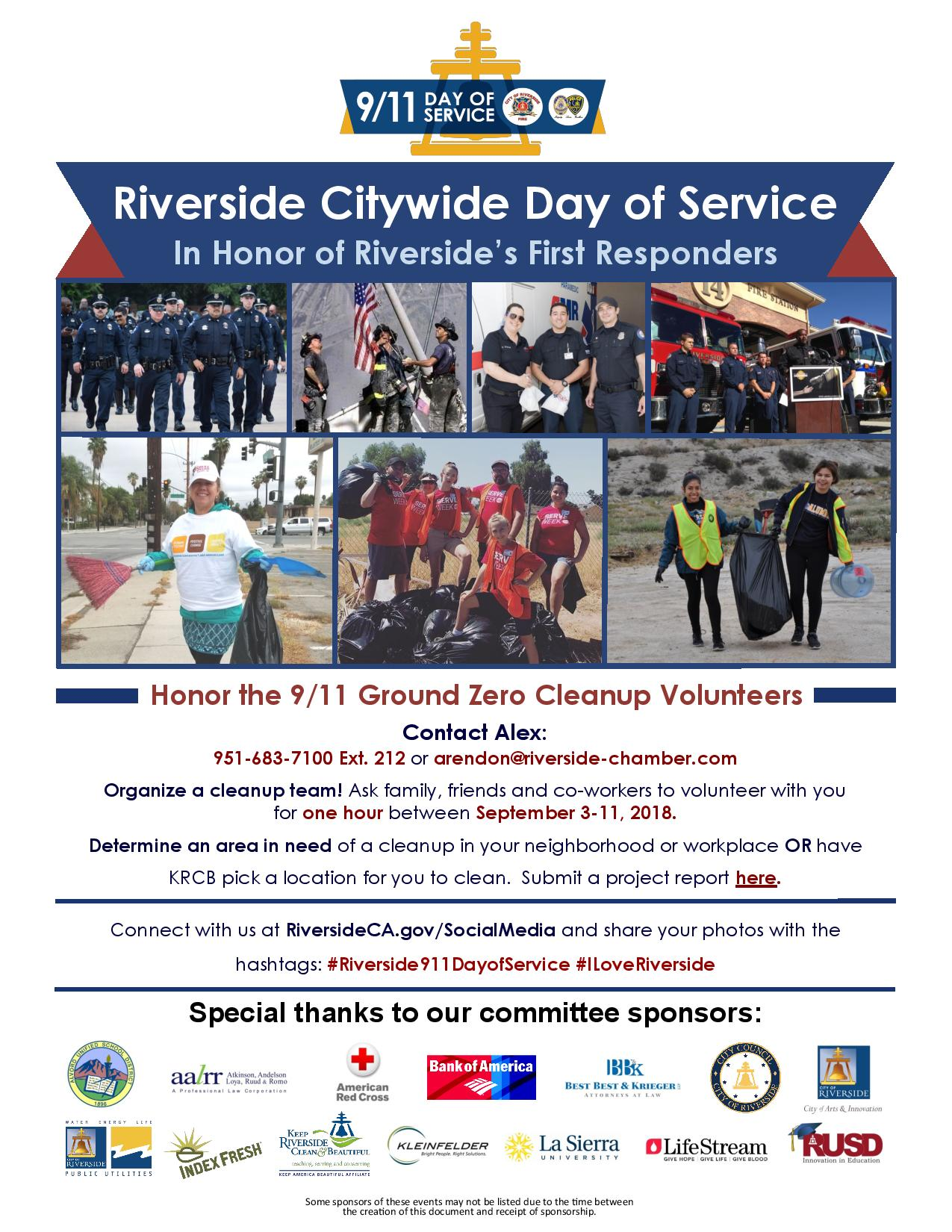 Day of Service Information