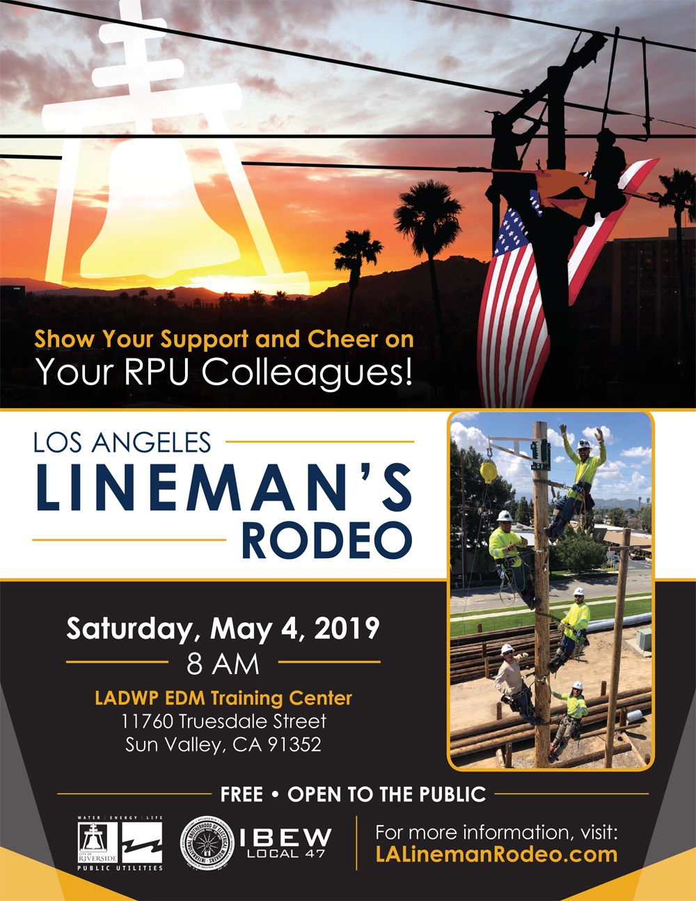 Rpu Linemen Will Compete At The Public Power Lineworkers